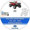 Thumbnail POLARIS SPORTMAN 400 500 2005 Service Repair Manual + Parts