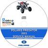 Thumbnail POLARIS PREDATOR 500 ATV 2003 SERVICE REPAIR MANUAL